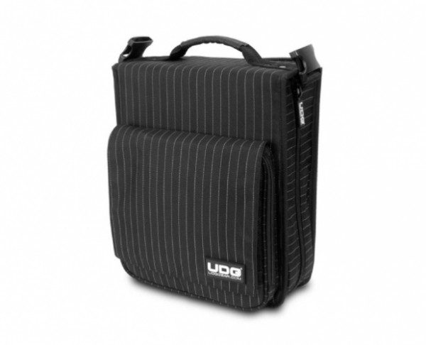 UDG CD SlingBag 258 Black/Grey Stripe