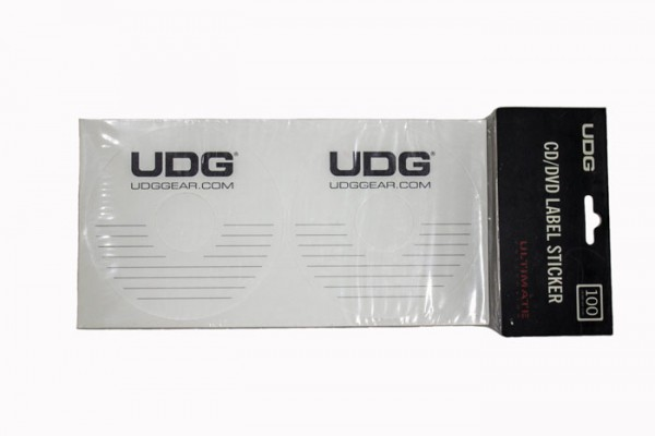 UDG CD/DVD Label Sticker
