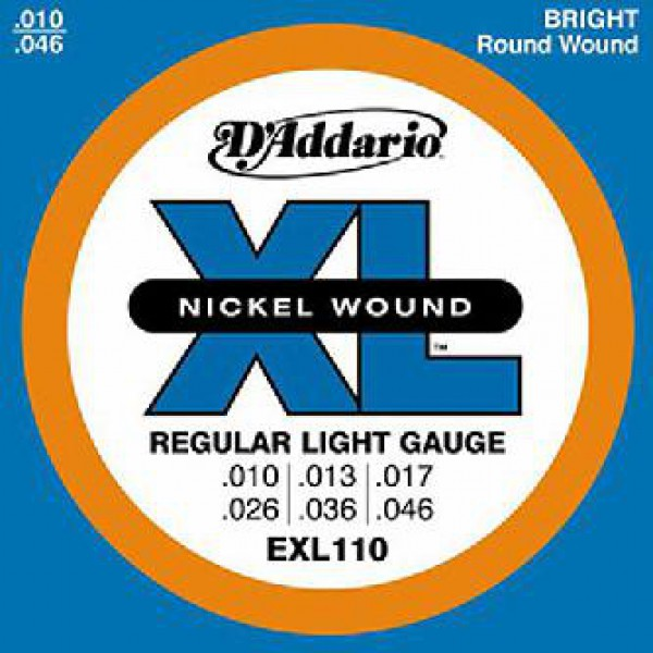 D`ADDARIO   EXL110 Nickel Wound, 10-46