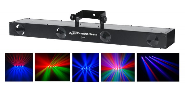 JBSYSTEMS LED QUADRA BEAM