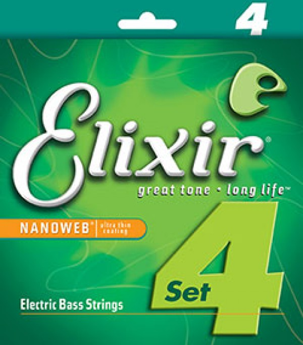 ELIXIR Bass 4S NW Sup/:th Lng 040 095