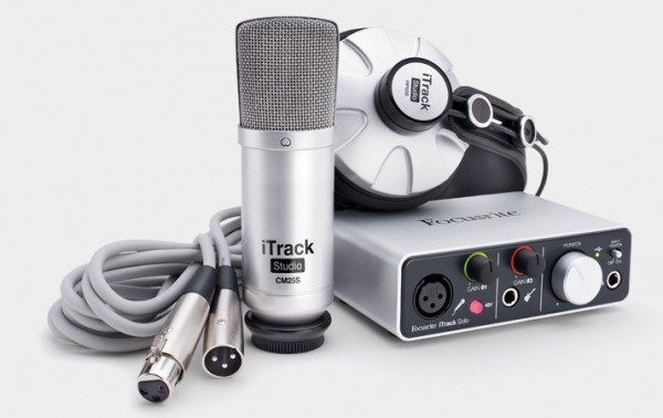 FOCUSRITE iTrack Studio Pack