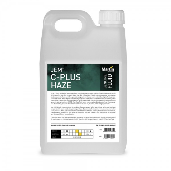 MARTIN JEM C-Plus Haze Fluid, 5l