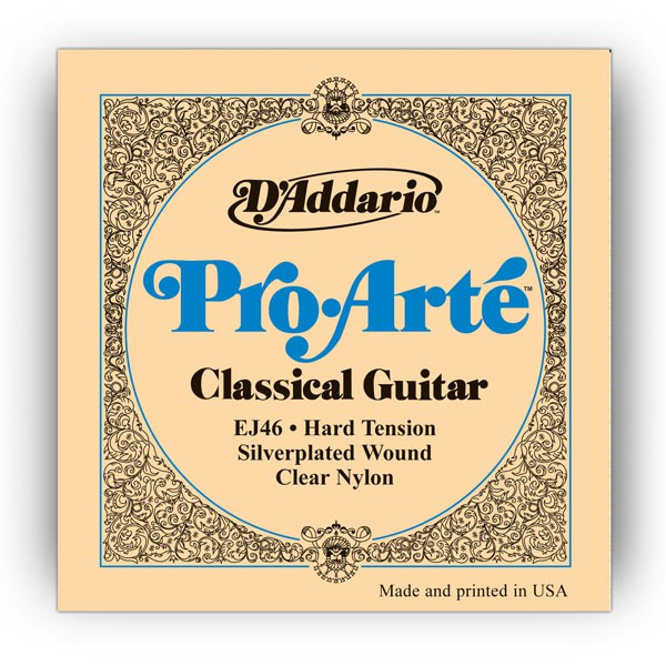 D`ADDARIO  EJ46 Nylon, Hard Tension