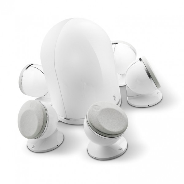 FOCAL DOME PACK 5.1 - WHITE