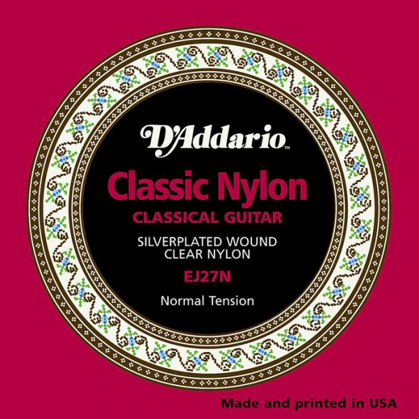 D`ADDARIO  EJ27N Student Nylon, Normal Tension