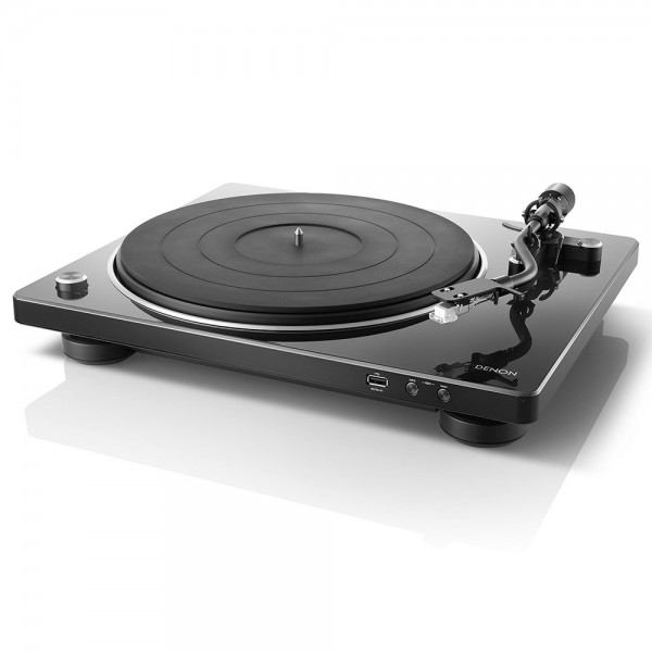 DENON DP-450 Black Turntable w/ USB