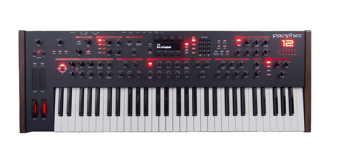 Sequential Prophet 12 Keyboard