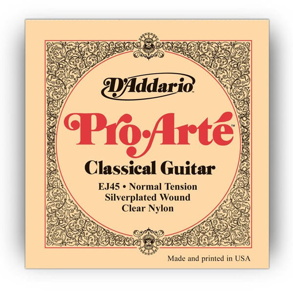 D`ADDARIO  EJ45 Nylon, Normal Tension