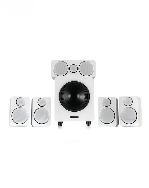 WHARFEDALE DX-2 5.1 HCP White Leather