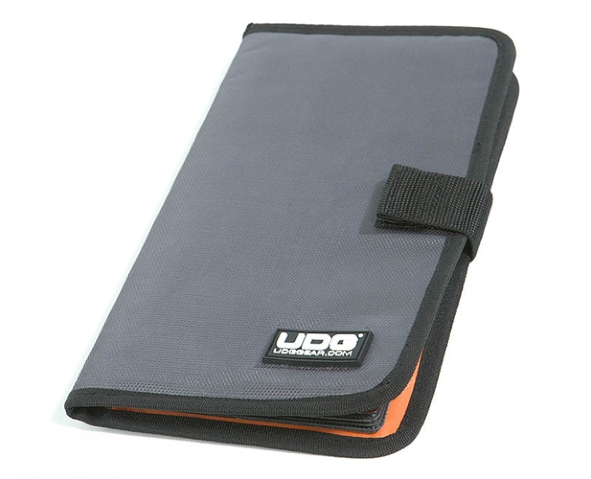 UDG CD Wallet 24 Steel Grey/Orange inside