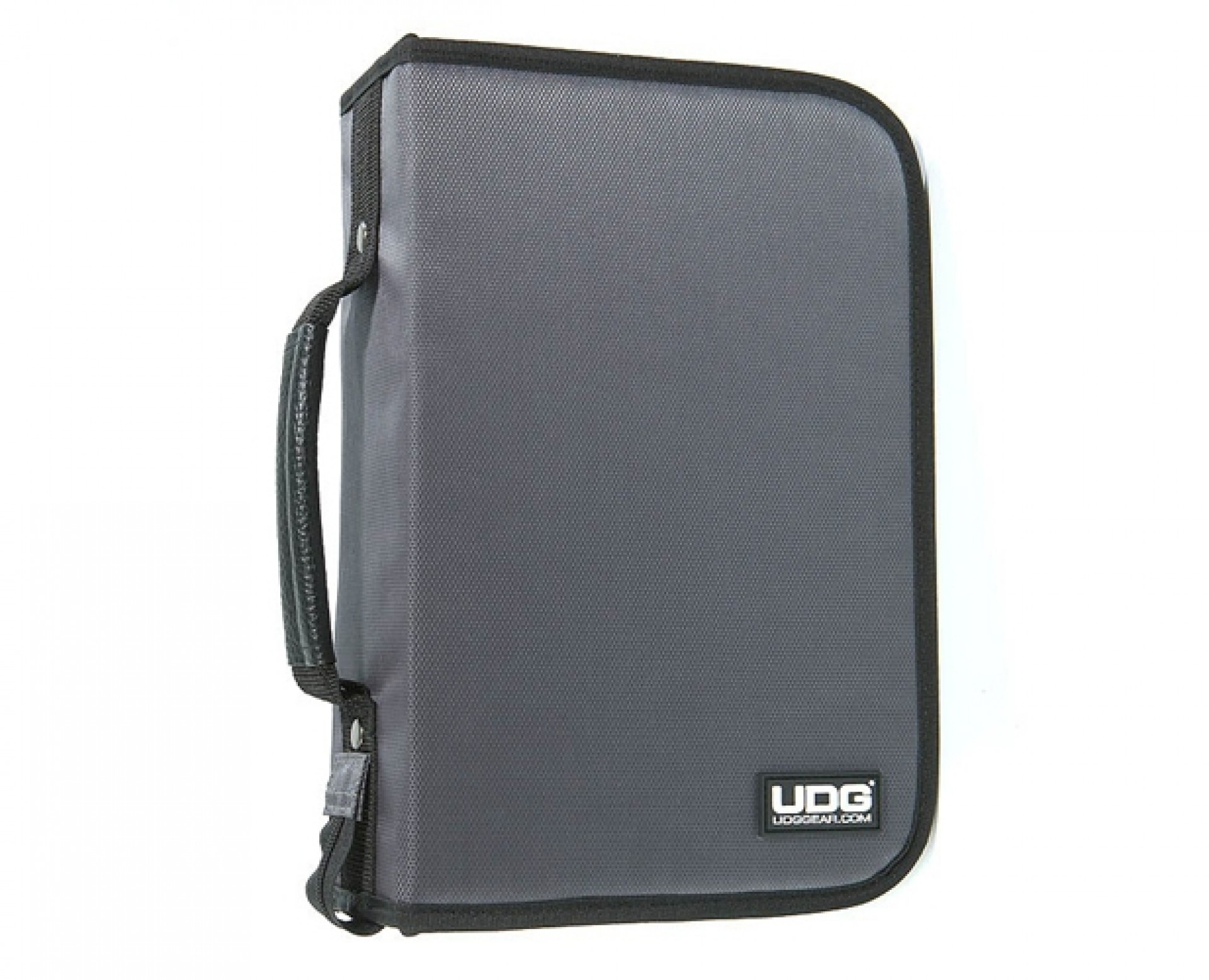 UDG CD Wallet 100 Steel Grey/Orange inside