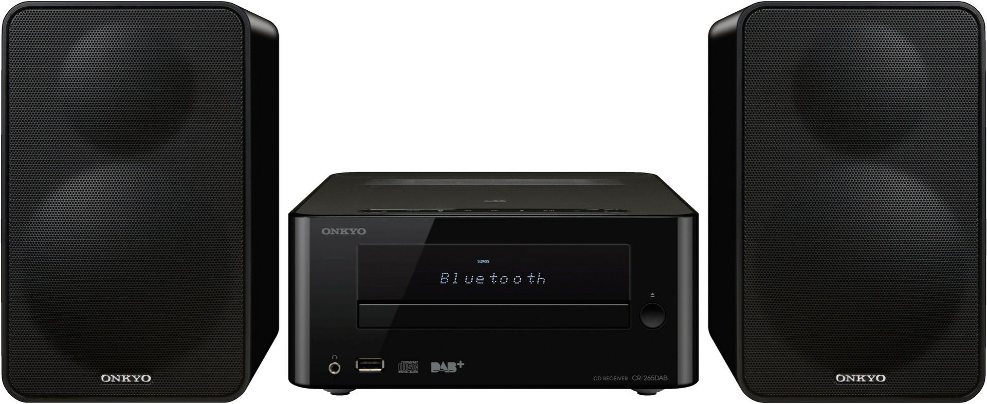 ONKYO CS-265DAB Black w/ Bluetooth