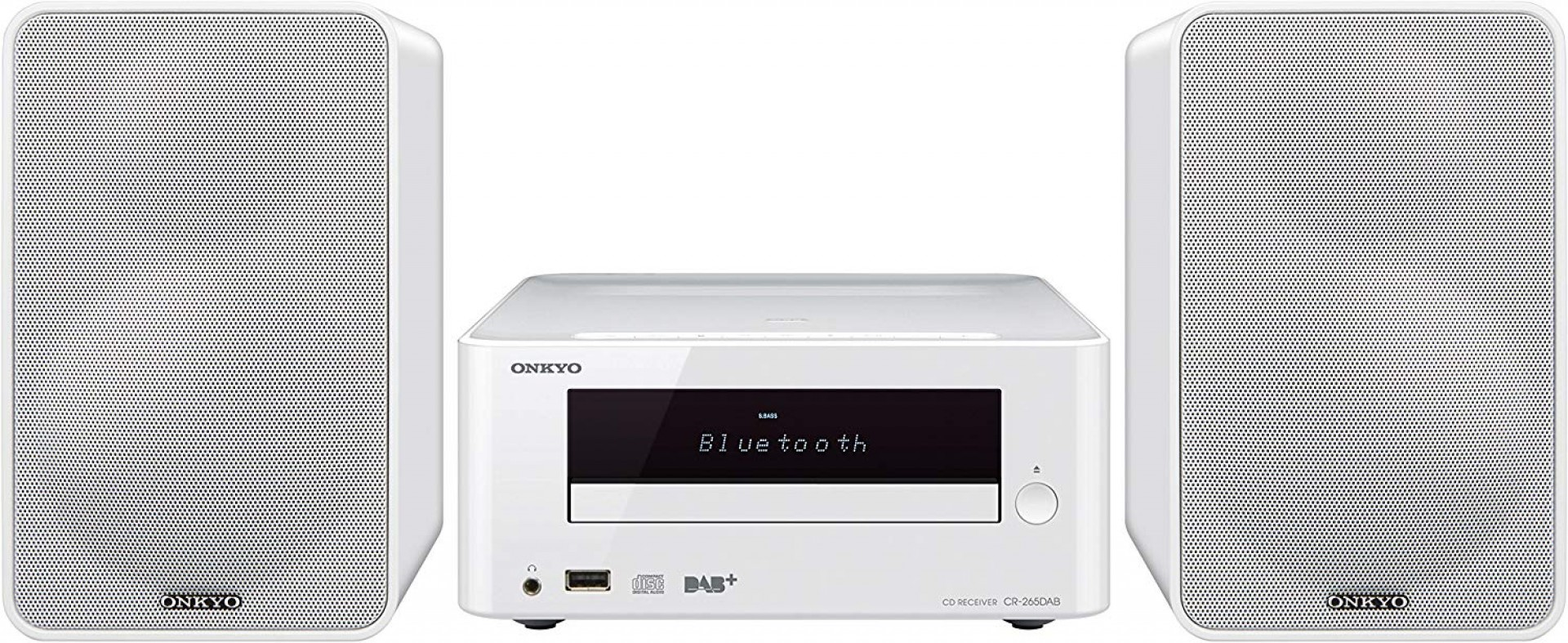 ONKYO CS-265DAB White w/ Bluetooth