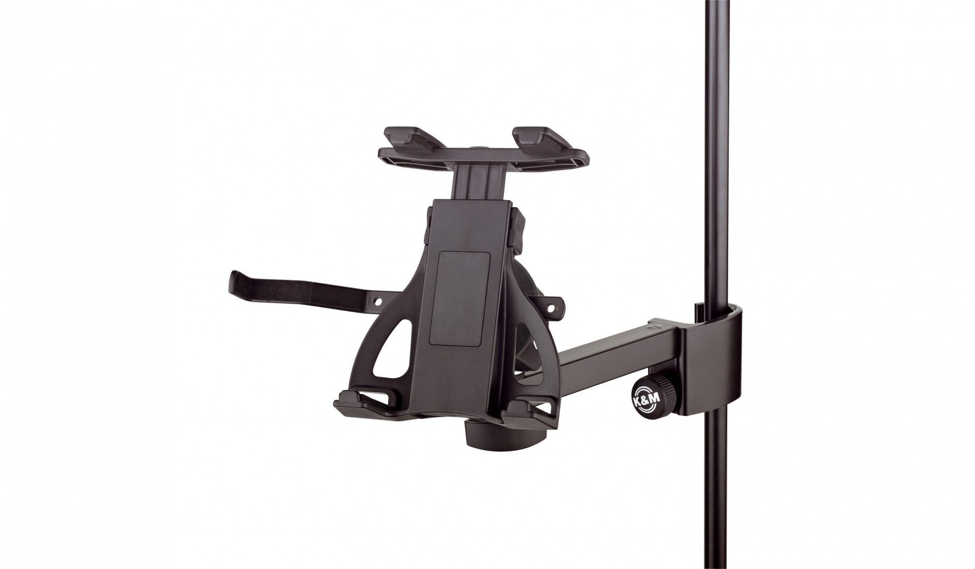 K&M 19740 Tablet PC holder - black