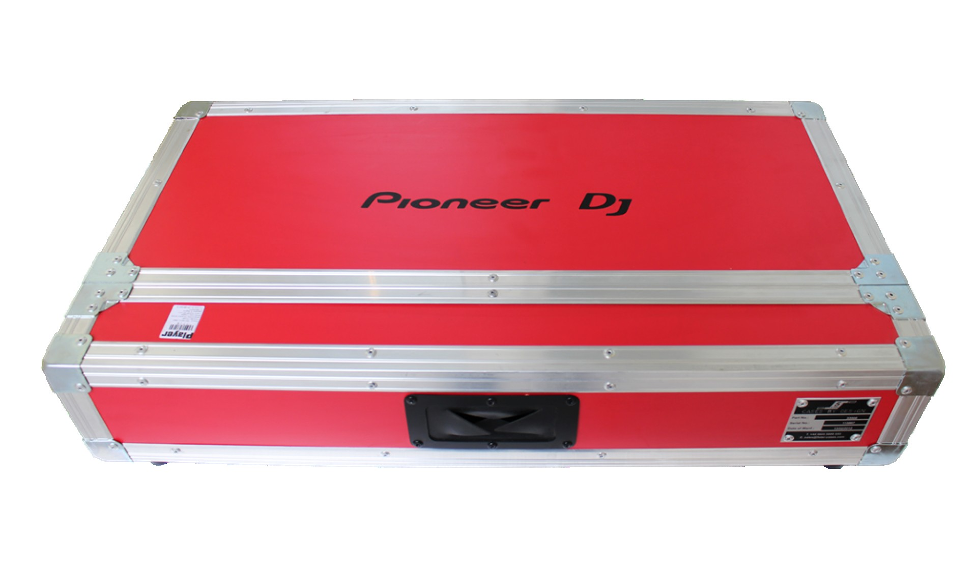 PIONEER Pro 250 Flight Case Red