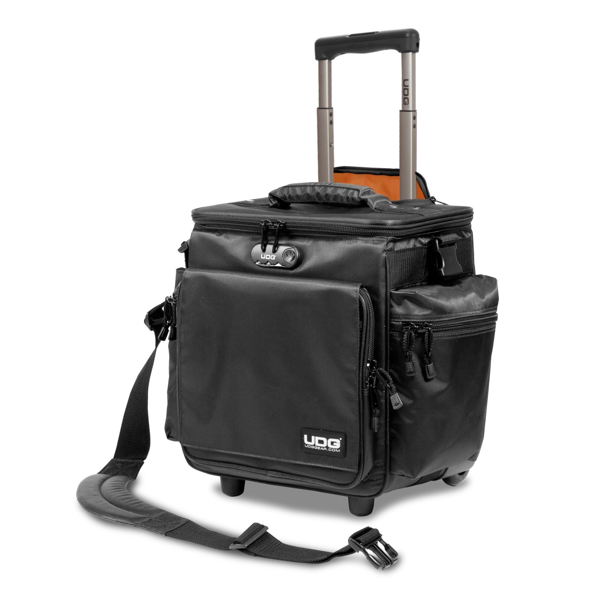 UDG Ultimate SlingBag Trolley DeLuxe Black, Orange insideMK2