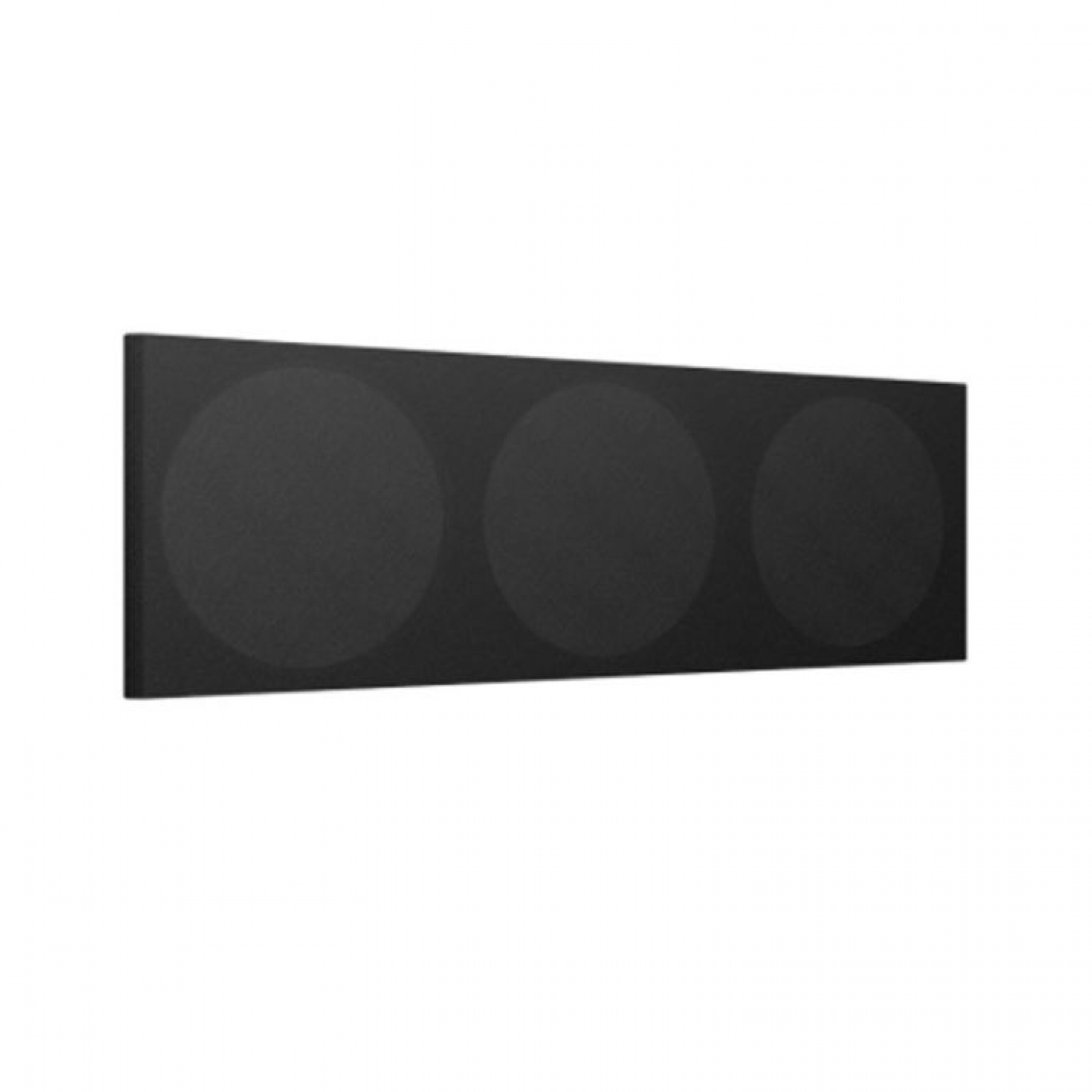 KEF Q650C BLACK CLOTH GRILLE