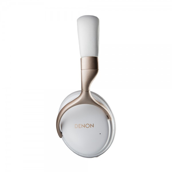 DENON AH-GC30 White Premium Wireless Noise Cancelling Headphones