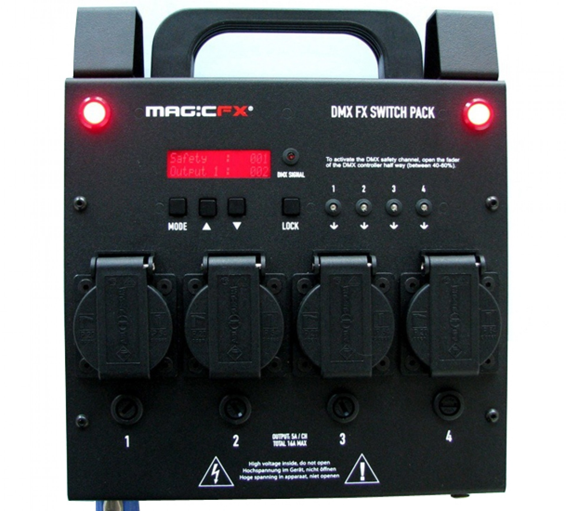 MAGIC FX DMX FX Switch Pack 4ch