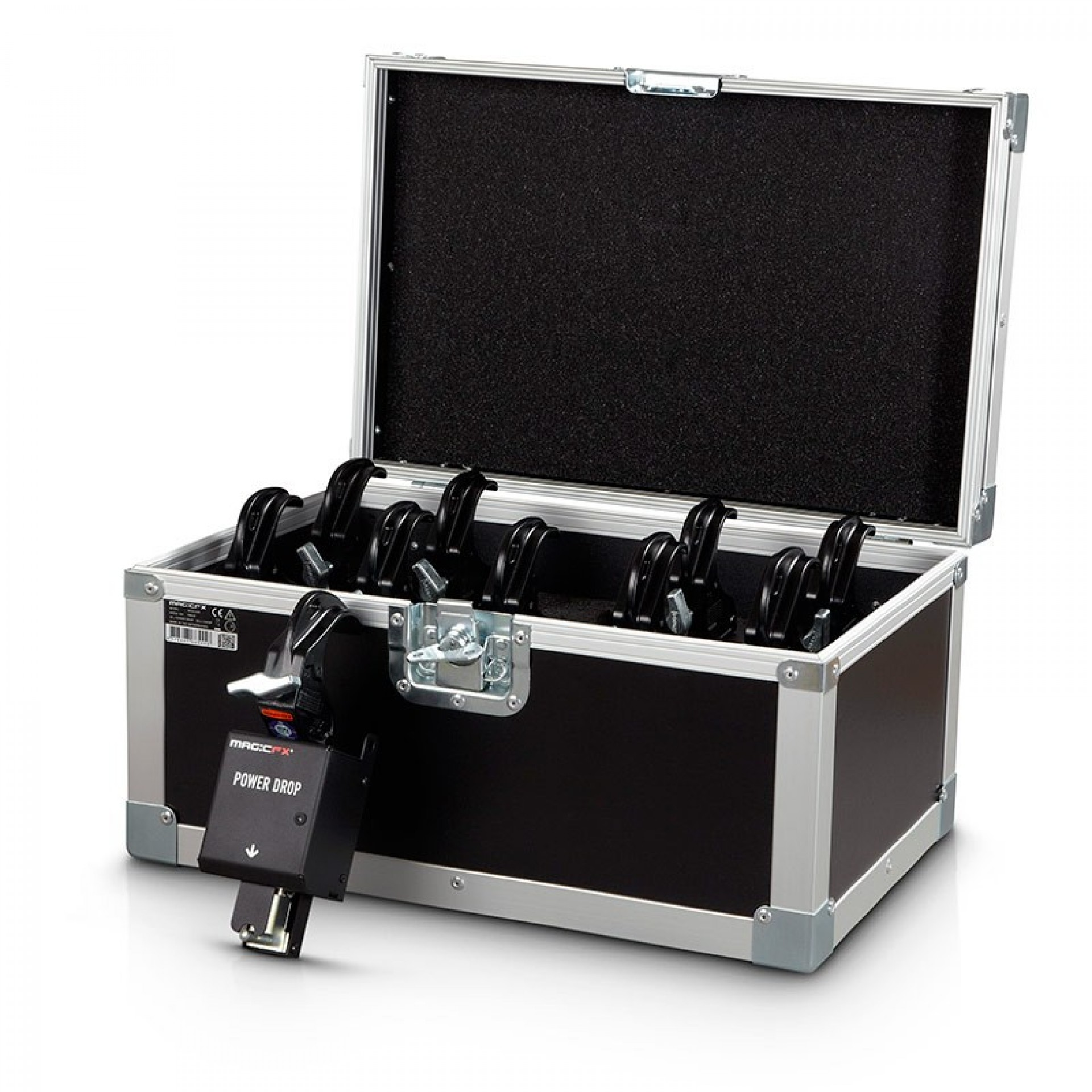MAGIC FX POWERDROP SET (Incl. 10 Curtain Clamps + Case)