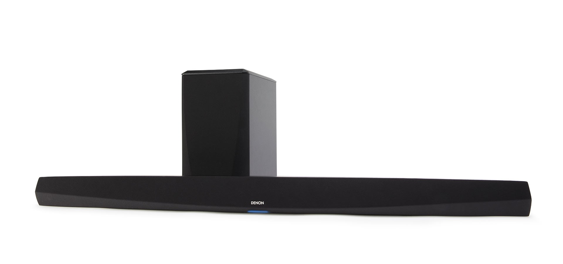 DENON DHT-S516H Black Soundbar & Wireless Subwoofer w/ HEOS