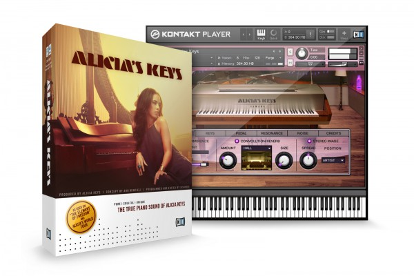 NATIVE INSTRUMENTS Alicia`s Keys virtual piano