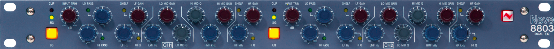 AMS Neve 8803 Dual Channel Equaliser