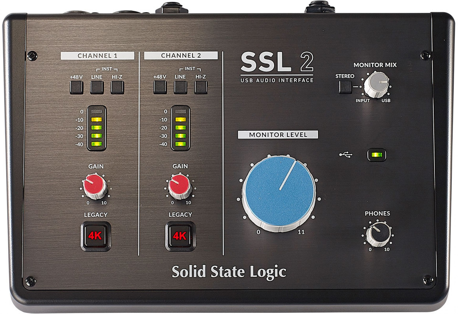 SSL SSL2 USB AUDIO INTERFACE