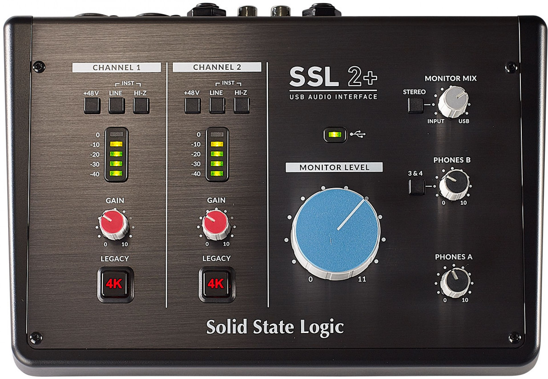 SSL SSL2+ USB AUDIO INTERFACE