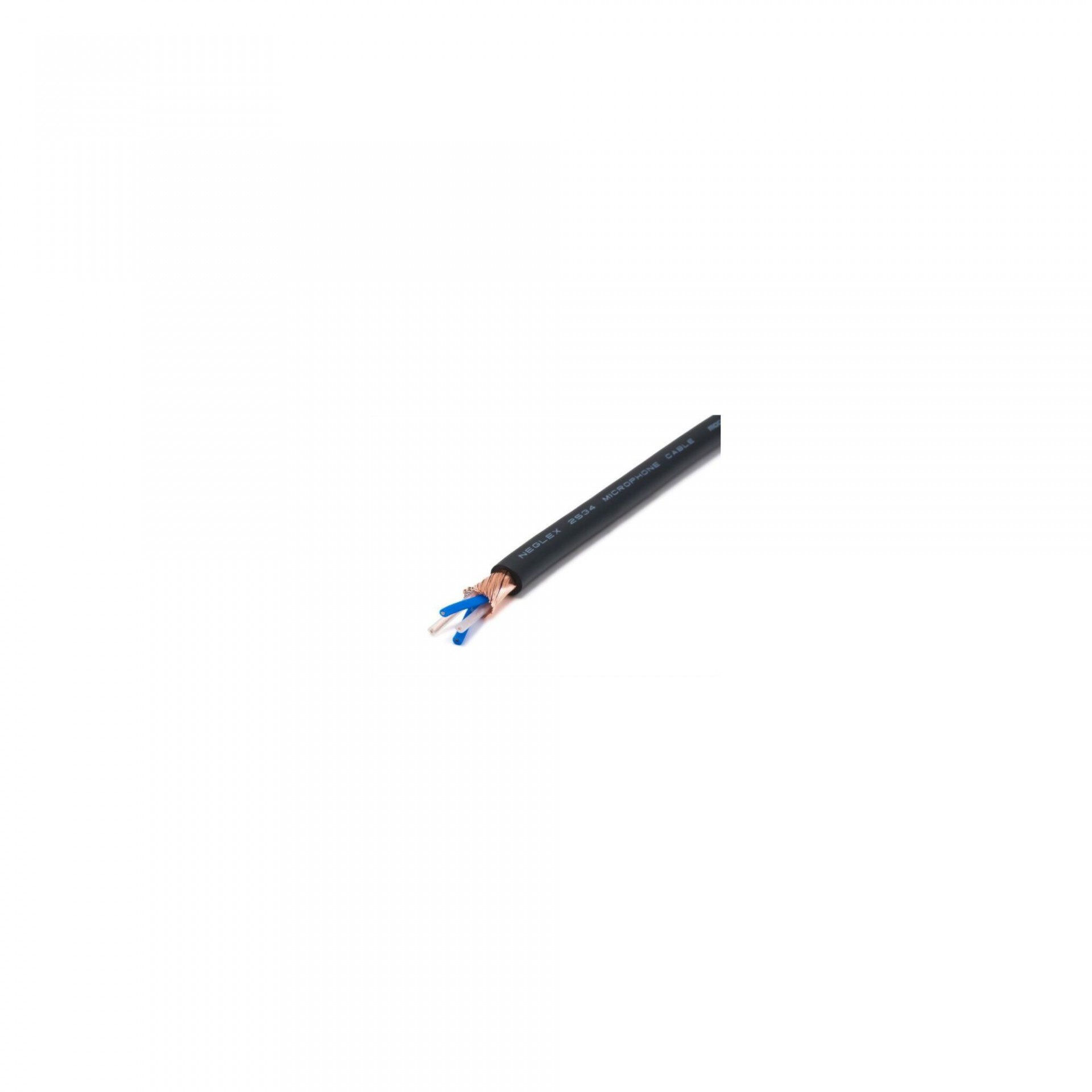 Mogami 2534 Microphone cable Black