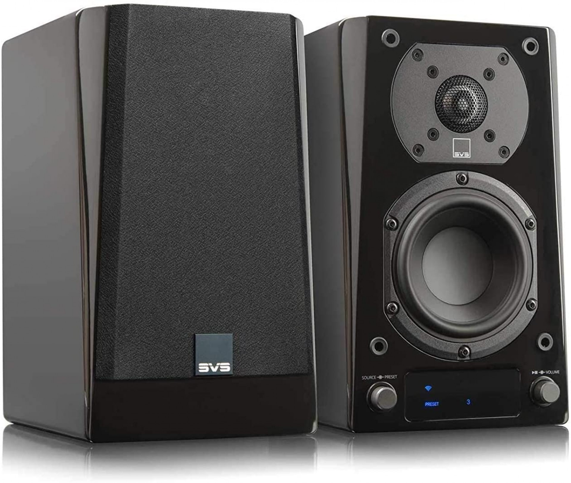 SVS Prime Wireless Speaker System Black Gloss
