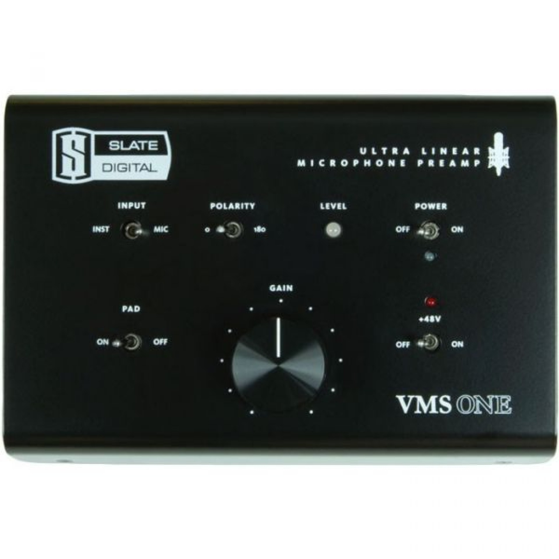 Slate Digital VMS One Preamp (Ultralinear Microphone Preamp)
