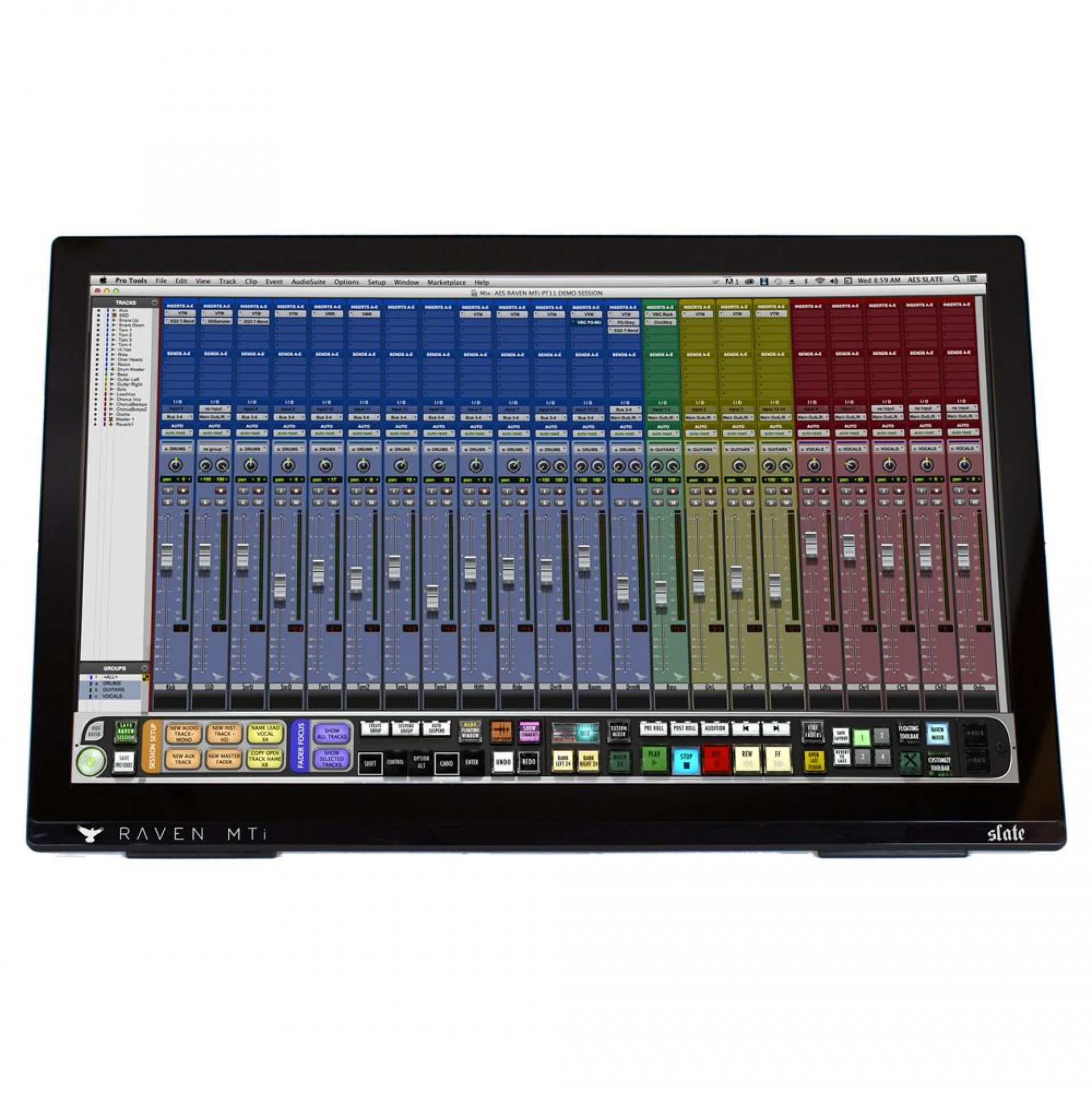 Steven Slate Raven MTi2 Multitouch DAW Controller for OSX & Windows