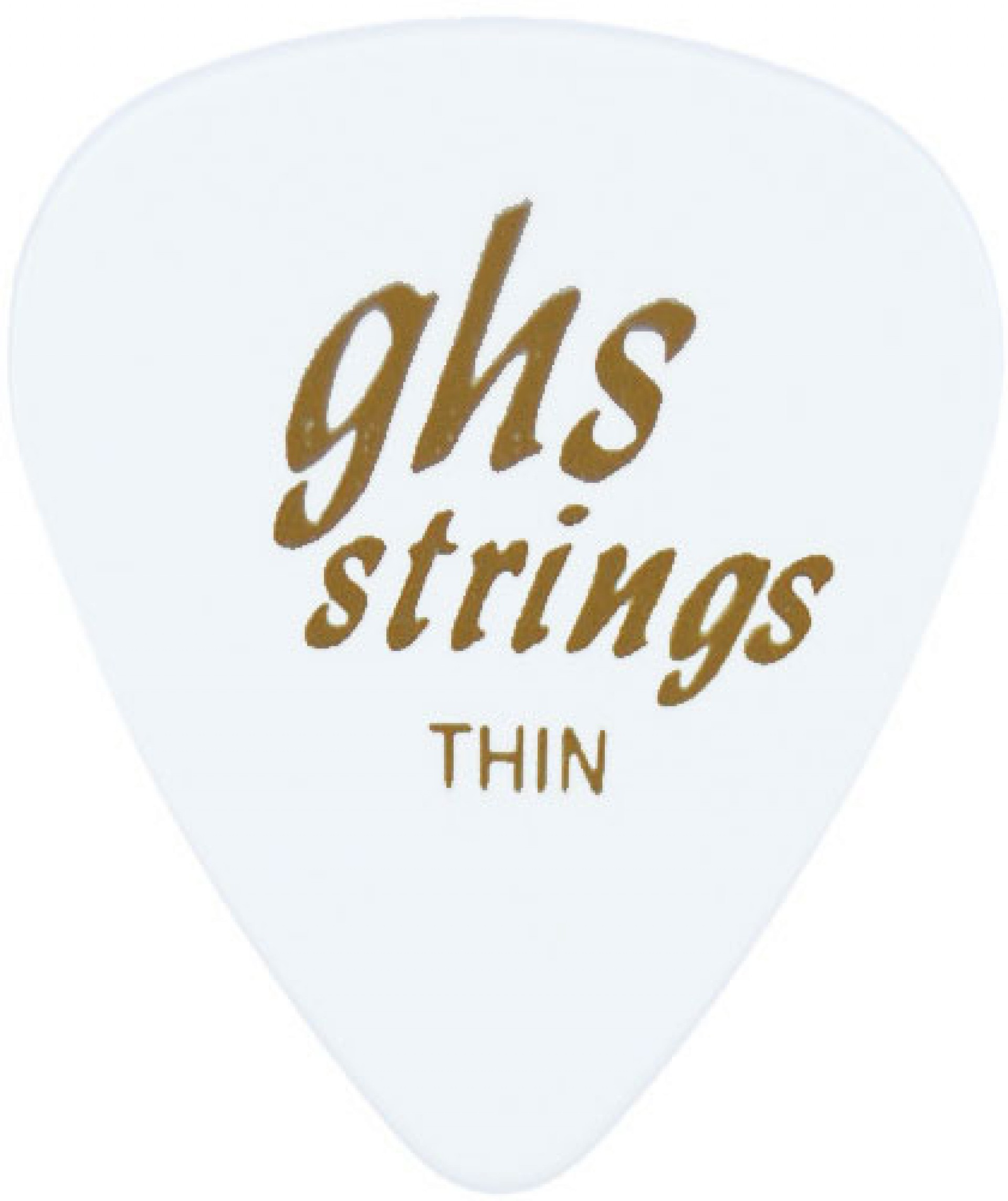 GHS A53 STYLE G THIN PICK-WHT