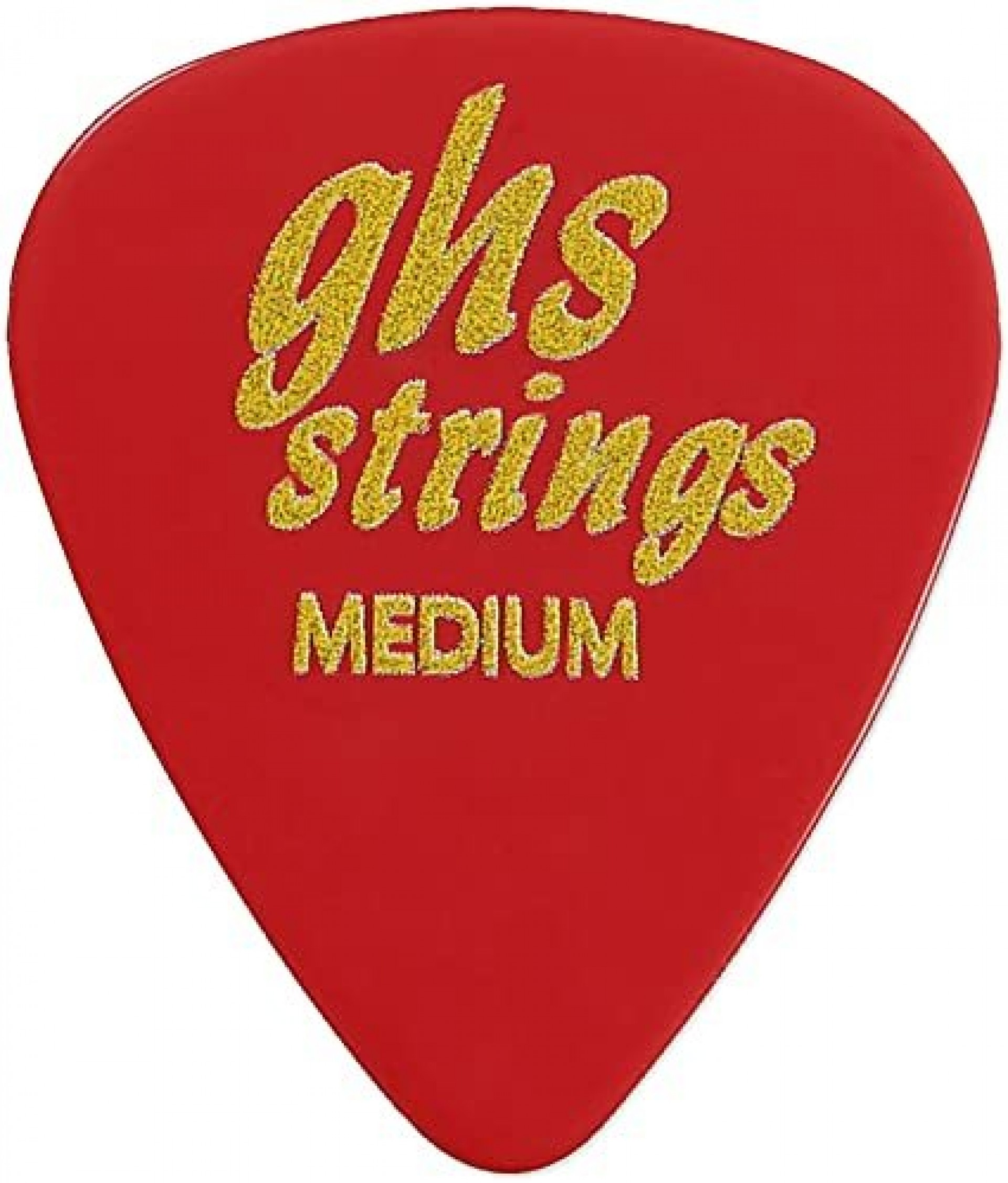 GHS A54 STYLE G MED PICK-RED
