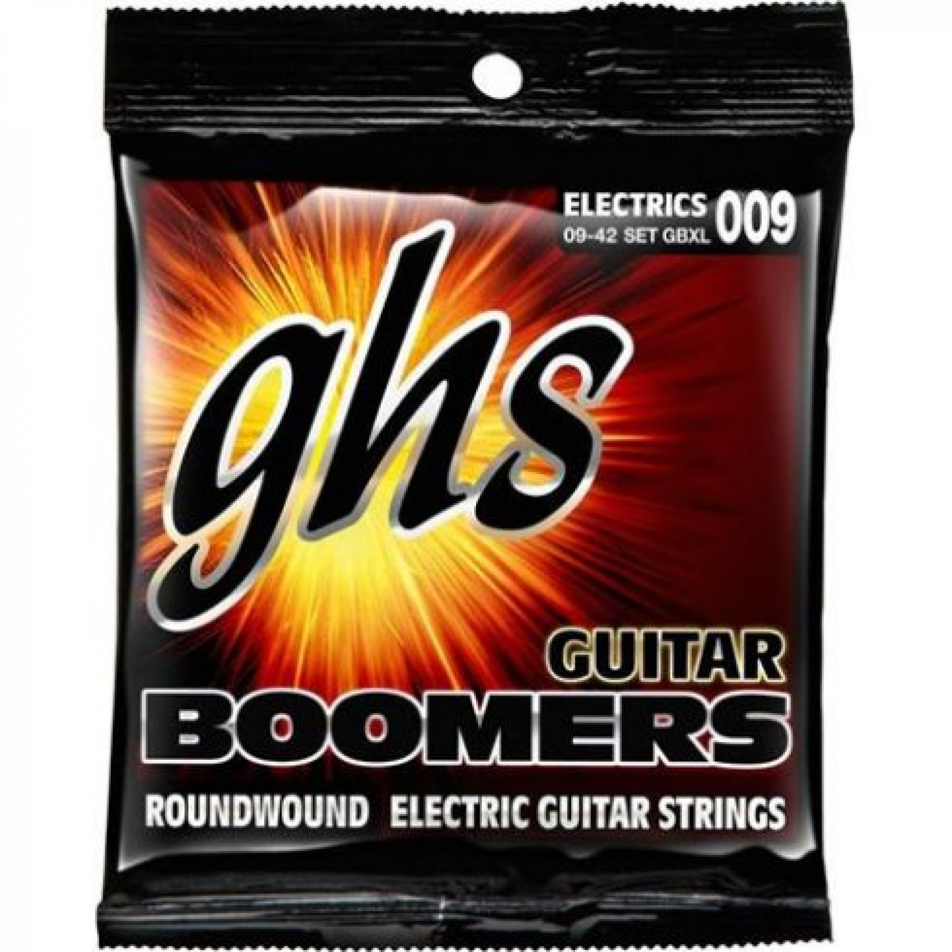 GHS GB-12XL Boomers Nickel Plated Steel Electric Guitar Strings 9-40 12-String Extra Light