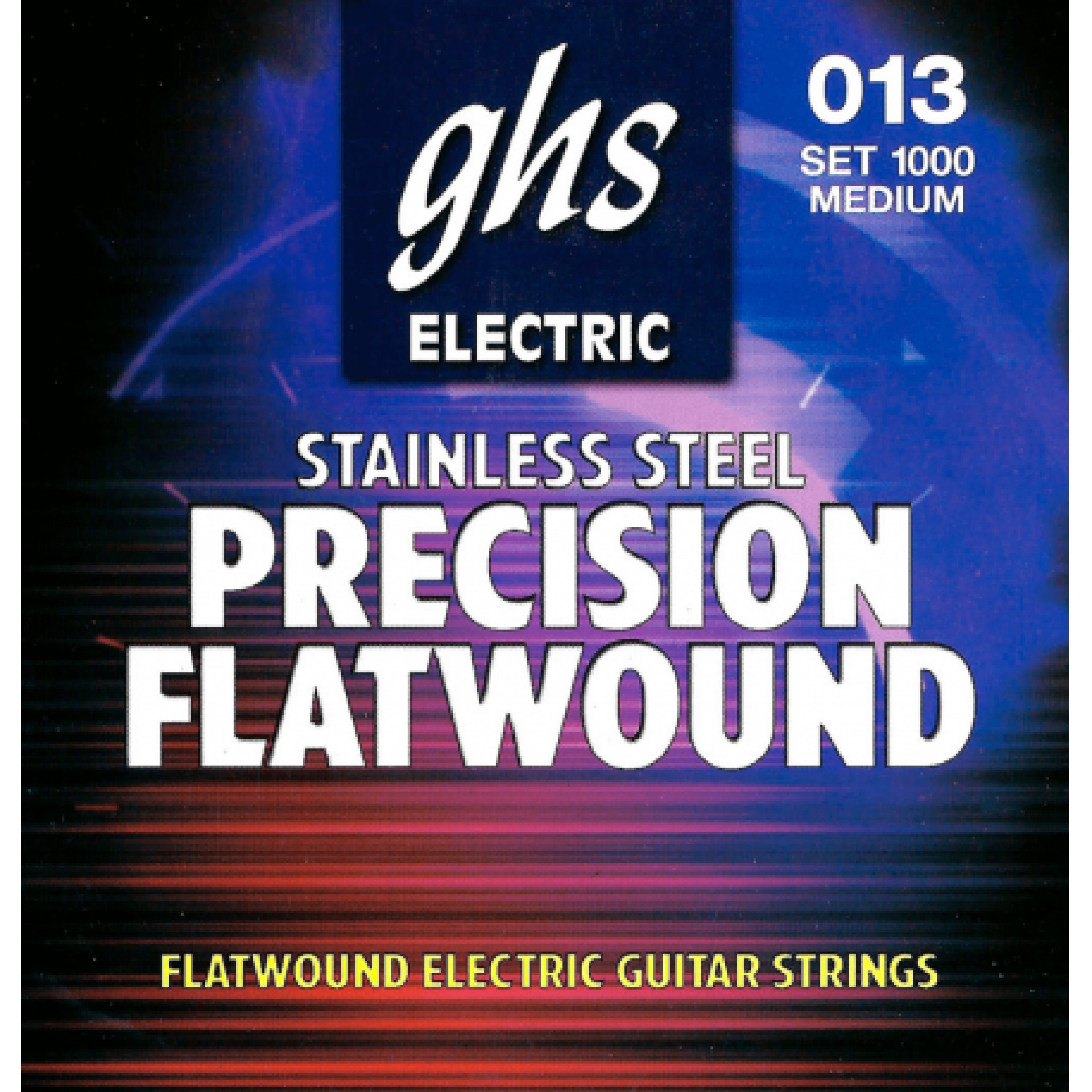 GHS 1000 Precision Flatwound Flat Wrap Stainless Steel