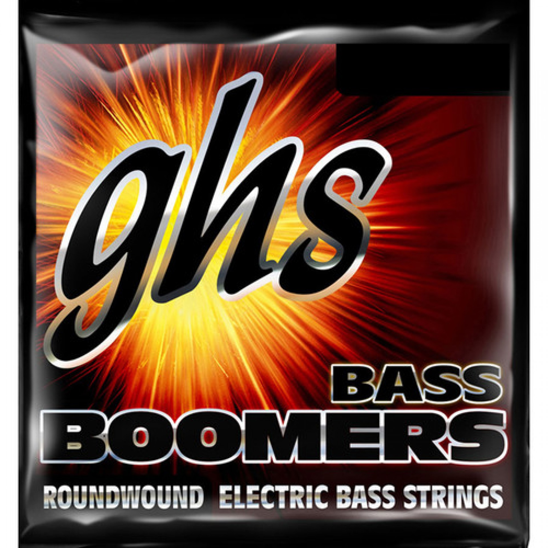 GHS 3035 Regular Bass Boomers Roundwound Electric Bass Strings (4-String Set, Short Scale, 50 - 107)