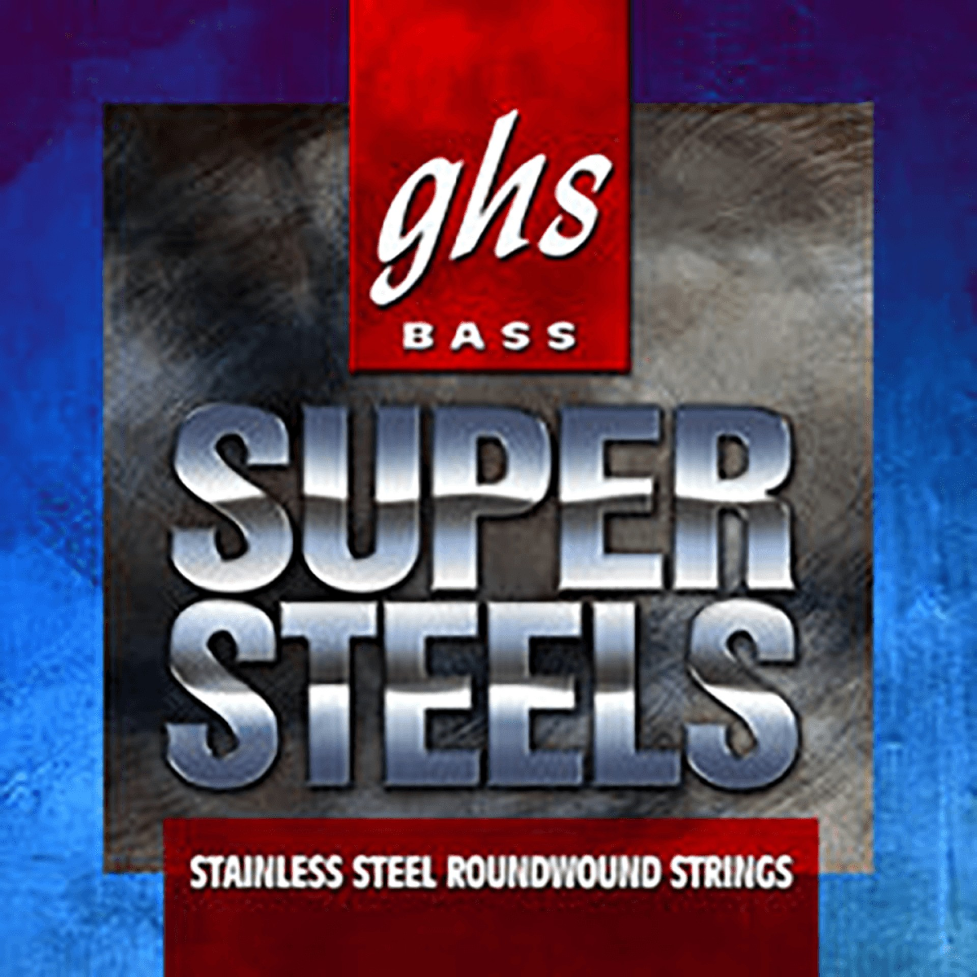 GHS 5M-STB Super Steels Stainless Steel Electric Bass Strings Long Scale - 5-String 44-126