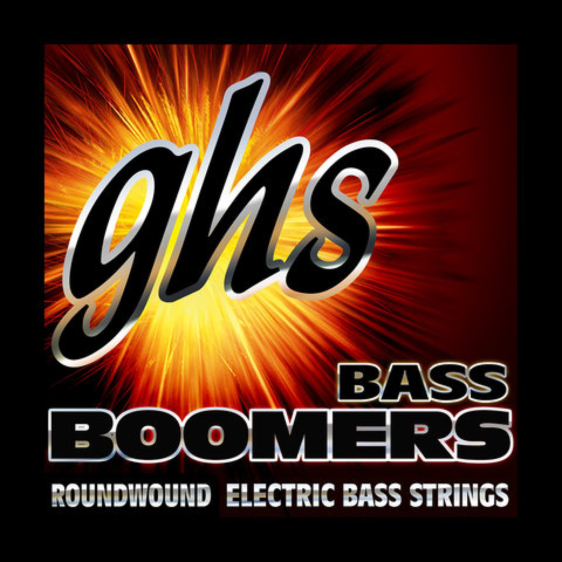 GHS 5ML-DYB Medium Light Bass Boomers Roundwound Electric Bass Strings (5-String Set, Long Scale, 45 - 125)