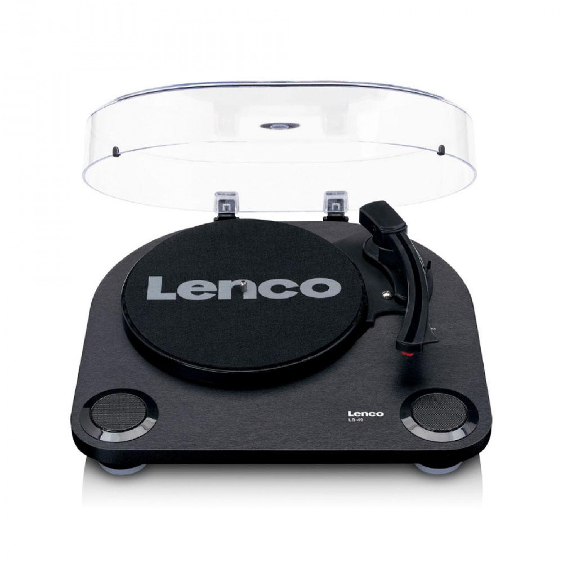 Lenco LS-40 - Turntable w/ built-in speakers BK