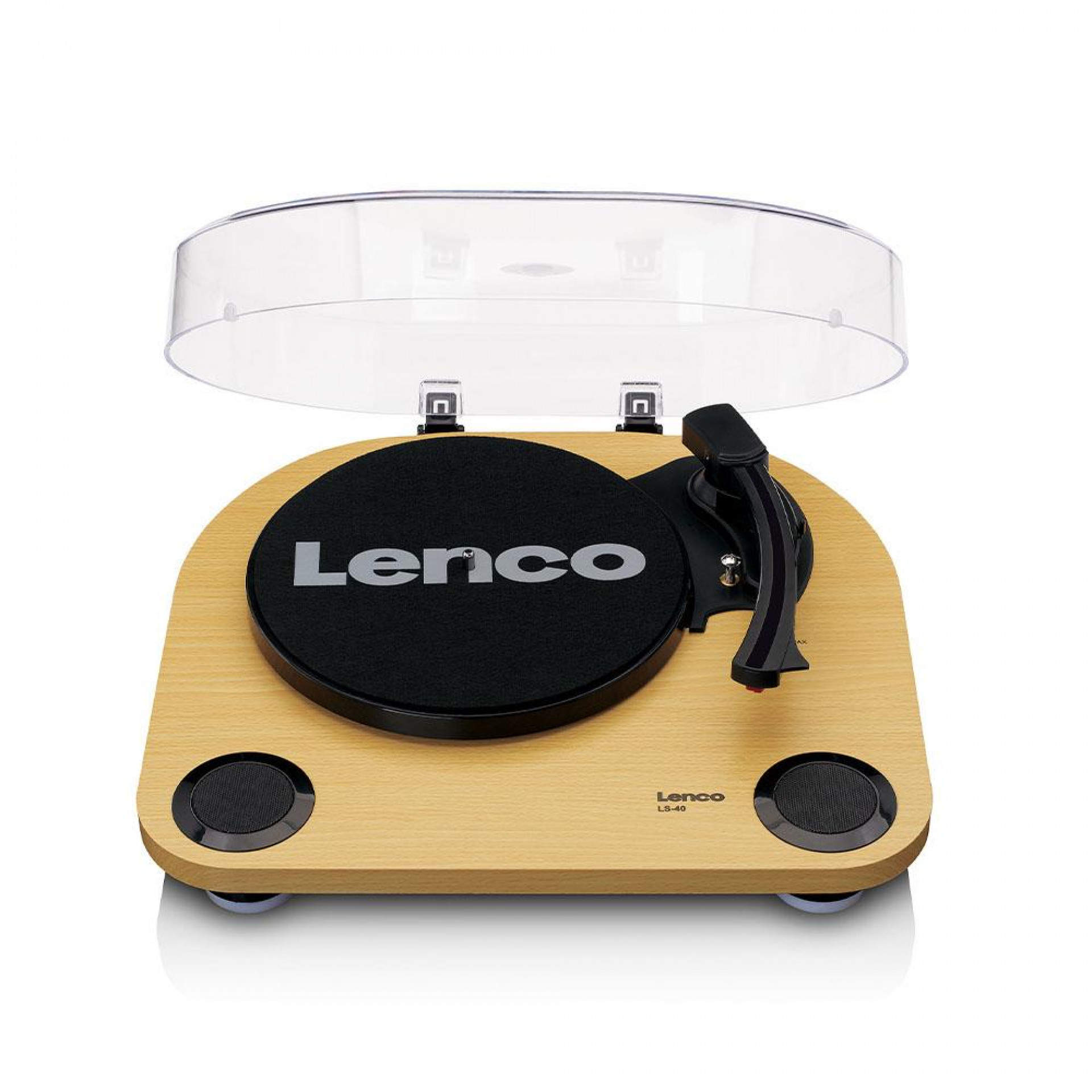 Lenco LS-40 - Turntable w/ built-in speakers WD