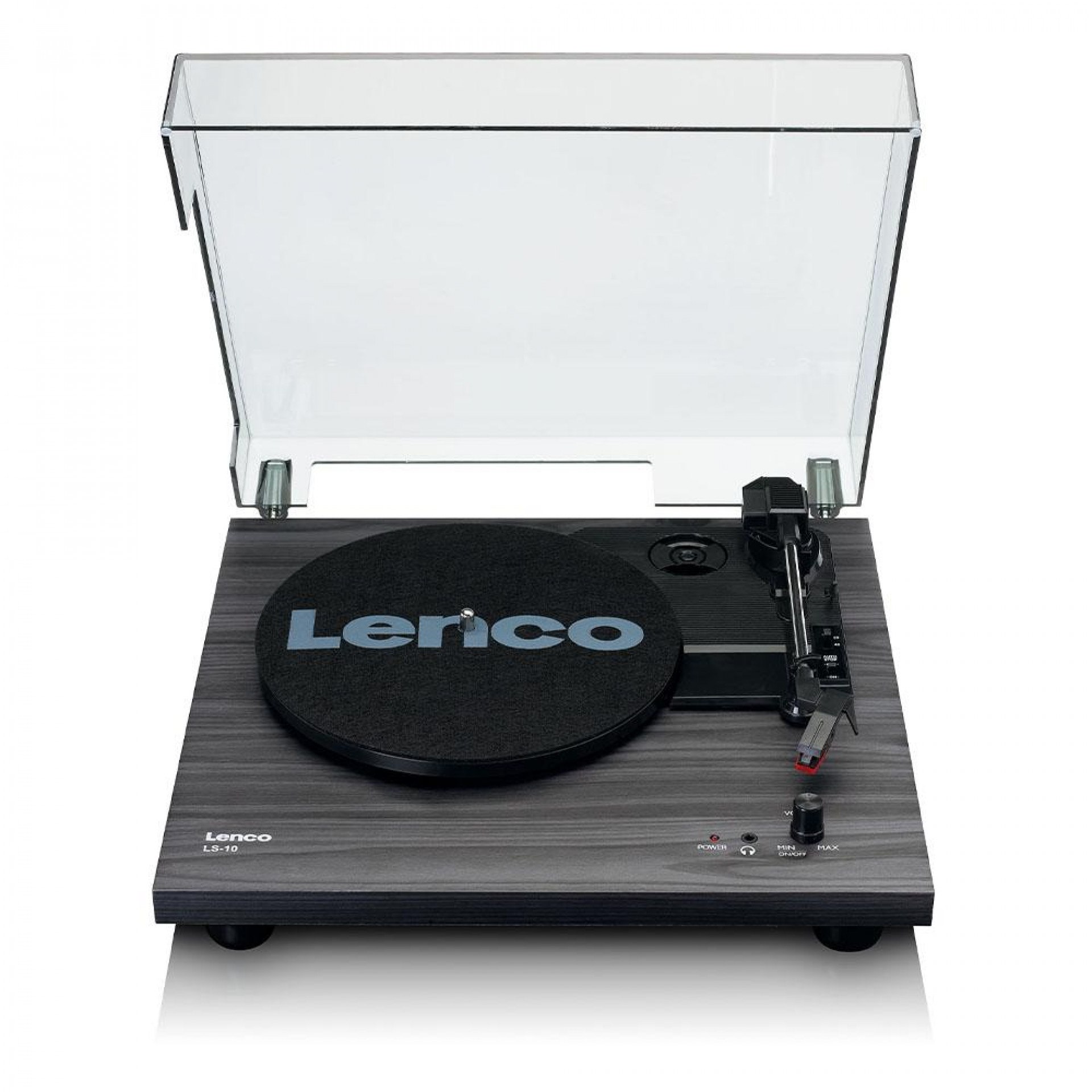 Lenco LS-10BK w/ built-in speakers