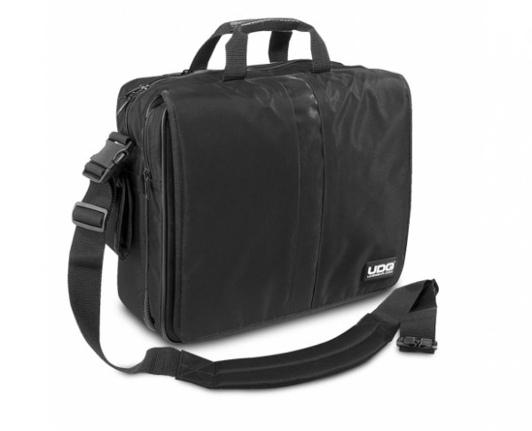 UDG Ultimate CourierBag DeLuxe 17'' Black, Orange inside