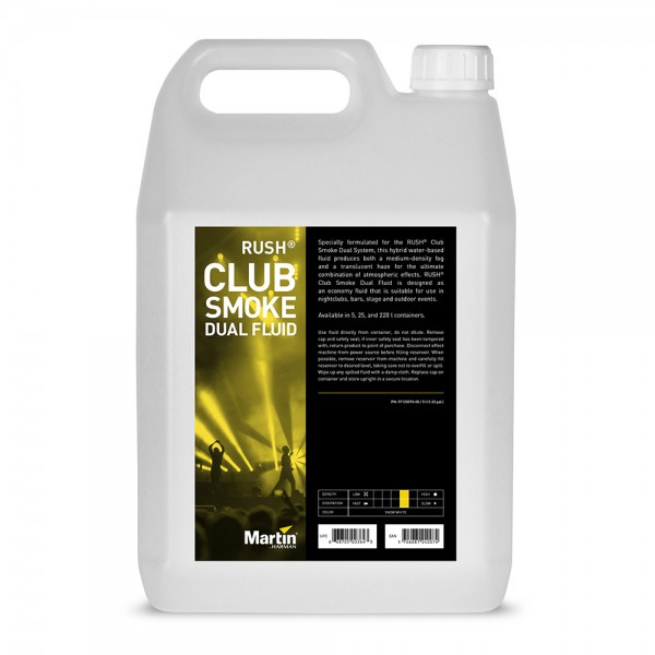 MARTIN RUSH Club Smoke Dual Fluid 5l