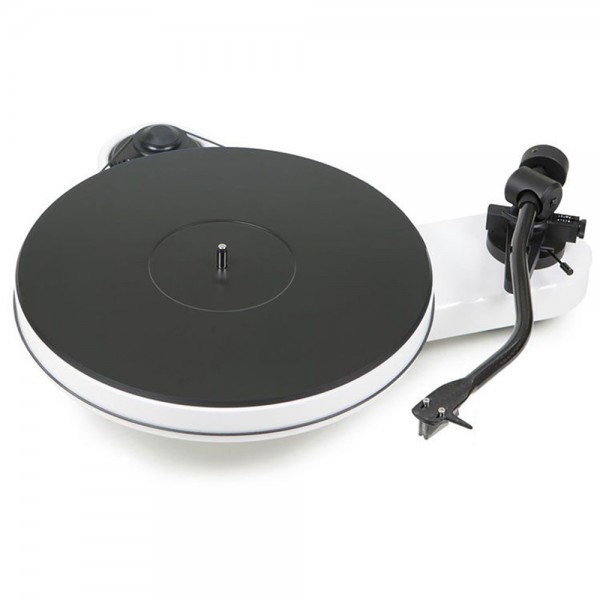 PRO-JECT RPM 3 Carbon White 2M Silver