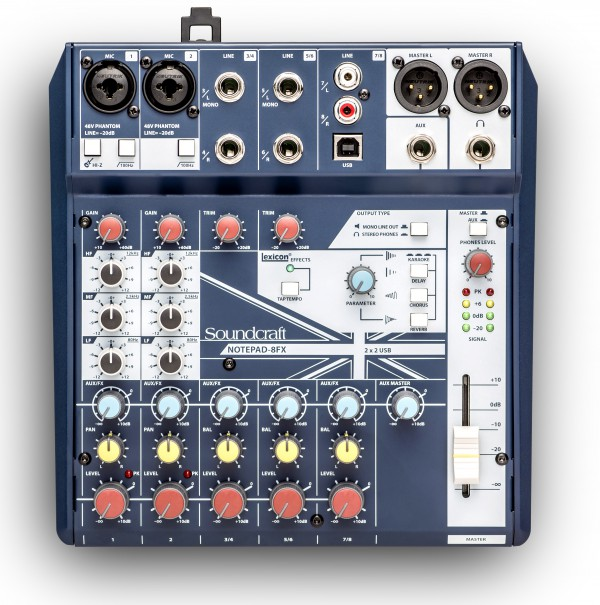 SOUNDCRAFT SCR NOTEPAD 8