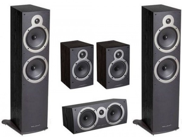 WHARFEDALE Crystal CR-30.5 System Black set