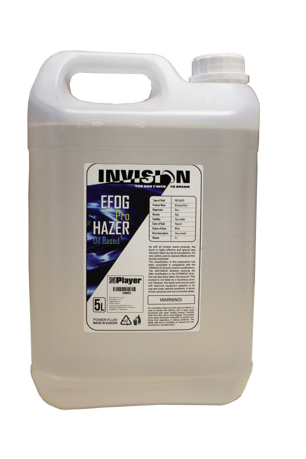INVISION HAZER FLUID PRO (Oil Based)